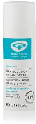 Green People Organic SPF 15 Day Cream Solution, Vegan 50ml - No Colour