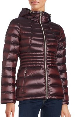Calvin KleinPackable Hooded Down Coat