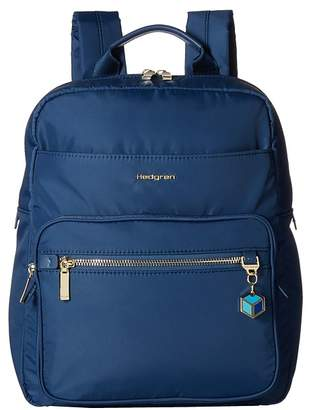 Hedgren Spell Backpack with Leather Trim Backpack Bags