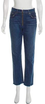 Reformation High-Rise Brooke Zip Jeans