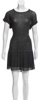 AllSaints Linen Knit Dress