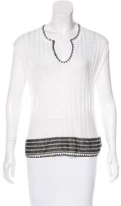 White + Warren Knit Sleeveless Top
