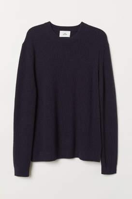 H&M Cashmere-blend Sweater - Blue