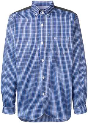 Junya Watanabe button down check print shirt