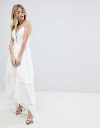 Y.A.S Floaty Tiered Maxi Dress