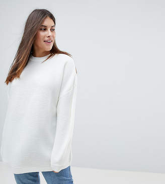 Asos Oversized Sweater in Ripple Stitch