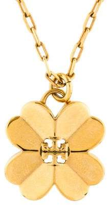 Tory Burch Shawn Clover Pendant Necklace