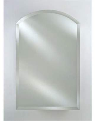 Afina Corporation SD2430RARCBVR Single Door 24X30 - 24X35 O-D - Recessed Arch Top Beveled Right Hinge Cabinet
