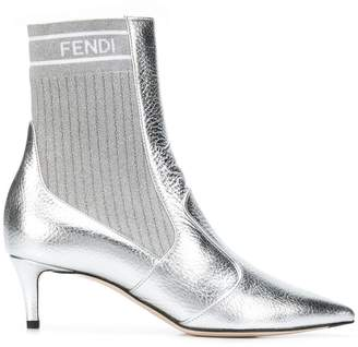Fendi stretch scuba boots