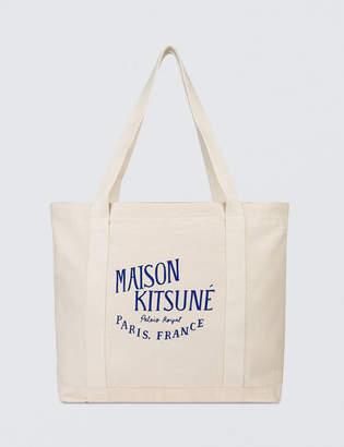 MAISON KITSUNÉ Shopping Bag Palais Royal Rubber