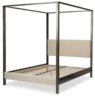 Apt2B Castor Metal Canopy Bed