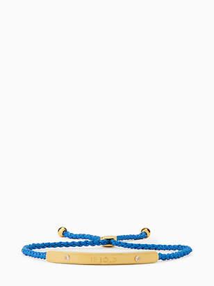 Kate Spade Say yes be bold slider bracelet