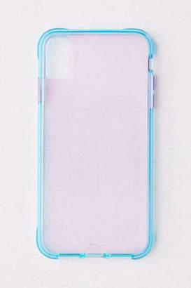 Case-Mate Tough Purple + Blue Neon iPhone Case