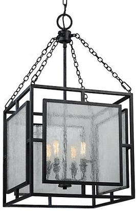 Feiss Noreen 4-Light Pendant - Zinc