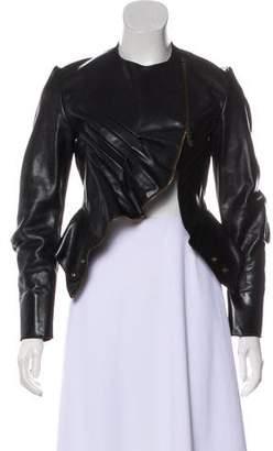 Saint Laurent Long Sleeve Leather Jacket