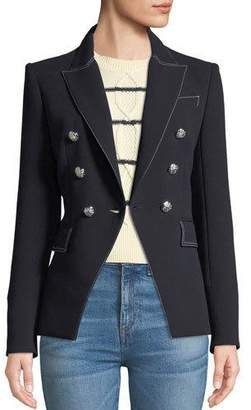 Veronica Beard Miller Double-Breasted Blazer Jacket