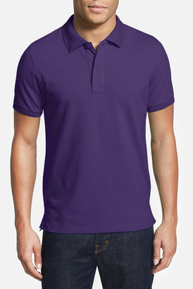 TailorByrd Stretch Pique Cotton Polo (Big & Tall) $89.50 thestylecure.com