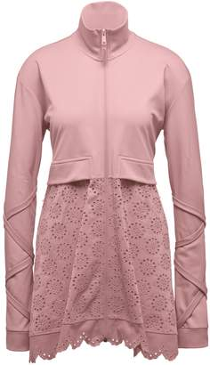 Tricot Jacket with Embroidered Skirt