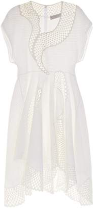 Stella McCartney Clotilde short-sleeved embroidered dress