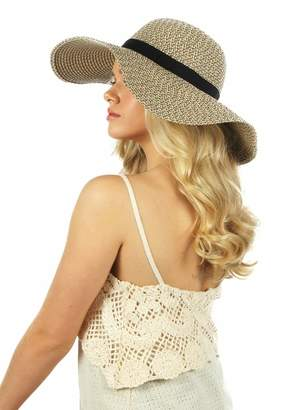 David & Young Marled Floppy Hat