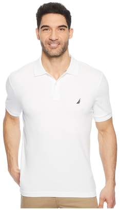 Nautica Short Sleeve Solid Interlock Polo Men's Short Sleeve Pullover
