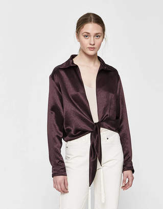 Collina Strada Mary-Ann Tie-Front Top