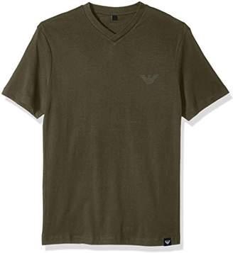 Armani Jeans Men's Side Logo T-Shirt