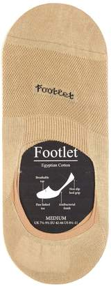 Pantherella Footlet cotton-blend shoe liners