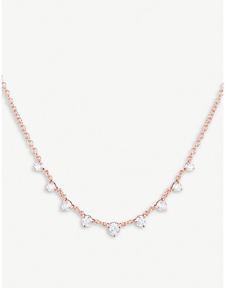 Rosegold The Alkemistry x Carbon and Hyde 14ct rose-gold and diamond Mini Star necklace