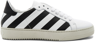OFF-WHITE Classic Diagonals Sneakers $559 thestylecure.com