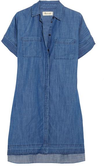 Madewell - Denim Shirt Dress - Blue