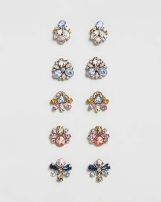 BaubleBar Shine On Stud Earrings Set