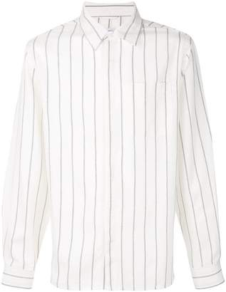Saturdays NYC long-sleeve striped shirt