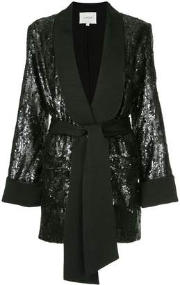 LAYEUR Renee sequin embellished blazer