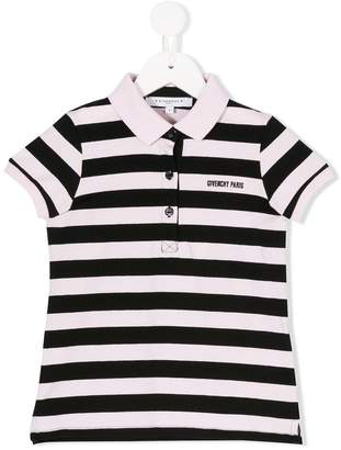 Givenchy Kids striped polo shirt