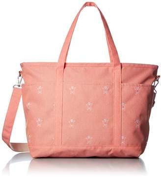 [ヒッチハイクマーケット] トートバッグ くま刺繍のマザーズバッグ A4対応 10M17S-C008-1 10 ピンク