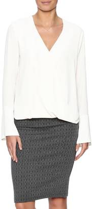 Veronica M Bell Sleeve Top $82 thestylecure.com