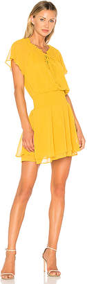 BCBGeneration Short Sleeve Blouson Dress