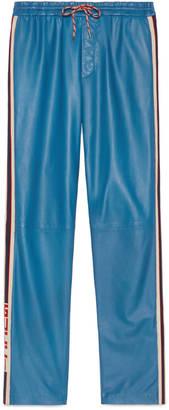 Leather jogging pant $2,800 thestylecure.com