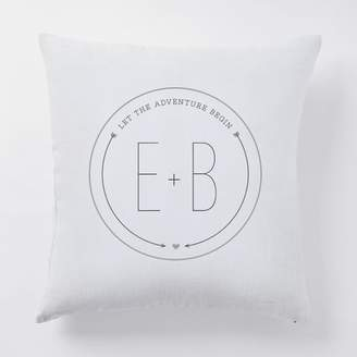 west elm Happily Ever After Pillow Covers - Let the Adventures Begin