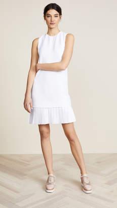 Victoria Beckham Victoria Pleat Hem Shift Dress