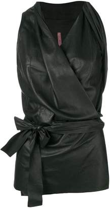 Rick Owens Lilies fitted waist blouse