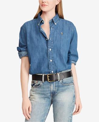 Polo Ralph Lauren Big Shirt Denim Cotton Shirt