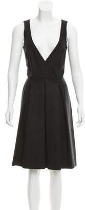 Isabel Marant Virgin Wool A-Line Dress