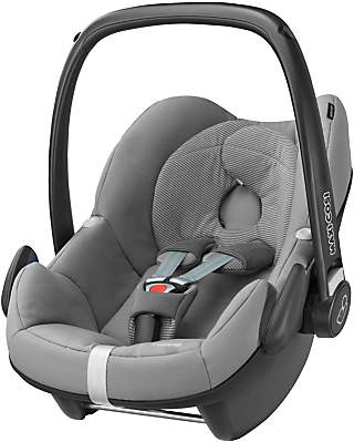 Maxi-Cosi Pebble Group 0+ Baby Car Seat, Concrete Grey
