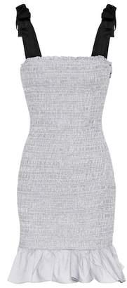 Rebecca Vallance Luella cotton minidress