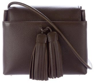 Tom Ford Tom Ford Pebbled Leather Tassel Crossbody Bag