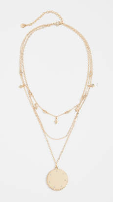 BaubleBar Andromeda Layered Pendant Necklace
