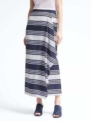 Stripe Cascade Maxi Skirt $128 thestylecure.com