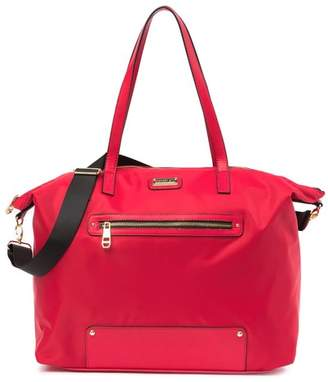 Madden-Girl Nylon Overnighter Tote